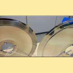 lama per affettatrice 360 materiale 100cr6 ribassata terza generazione