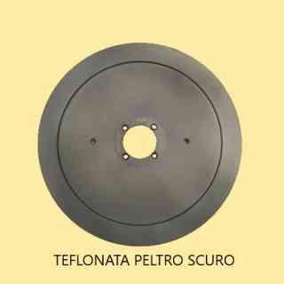 LAMA AFFETTATRICE 350 /57/4/280/22,5 100Cr6 PTFE PELTRO SCURO (TEFLONATA)