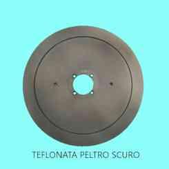 lama affettatrice 370 diametro 37cm /57/4/300/22,5 100cr6 ptfe peltro scuro