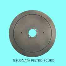 RICAMBIO LAMA AFFETTATRICE 370/57/4/300/22,5 100Cr6 PTFE PELTRO SCURO
