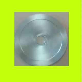 lama per affettatrice 300 diametro 30cm foro centrale 57mm quattro fori  materiale c45
