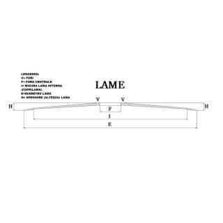 LAMA PER AFFETTATRICE 300/40/4/254/22,5 100Cr6