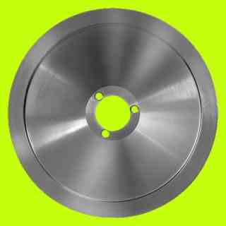 blade for slicer rgv 300 central hole 40mm three holes abo - agw fac ironweed italiana macchi rgv material c46
