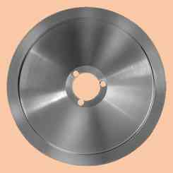 blade for slicer 250 diameter 25cm three hole central hole 40mm c45 rgv fac e