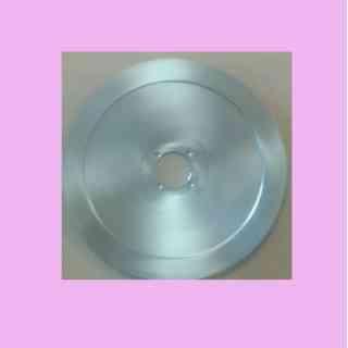 lama per affettatrice 275 diametro 27,5cm foro centrale 40mm  abm sirman abo regina materiale c45