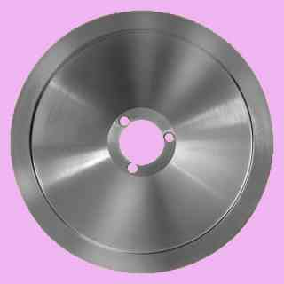 lama per affettatrice 275 diametro 27,5cm e/40f/3v/218i/15h   per affettatrici  fac materiale c45