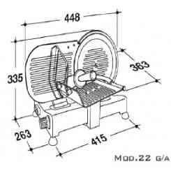 RGV SERIE LUSSO Mod.220 GL CE DOMESTICO