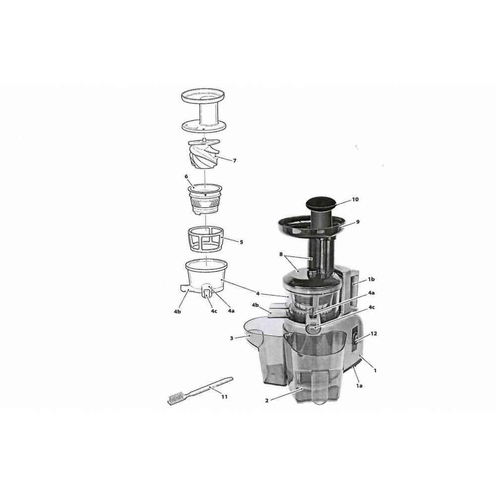 filtro cestello per juice green RGV