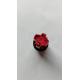 interruttore 24v 230 a 6 oli per baker line tasto tondo rosso