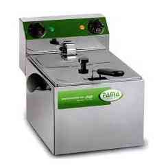 friggitrice fama singola 8 litri mfr80 senza rubinetto