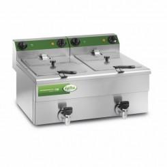 friggitrice fama doppia 10 litri +10 litri con rubinetto mfr210r