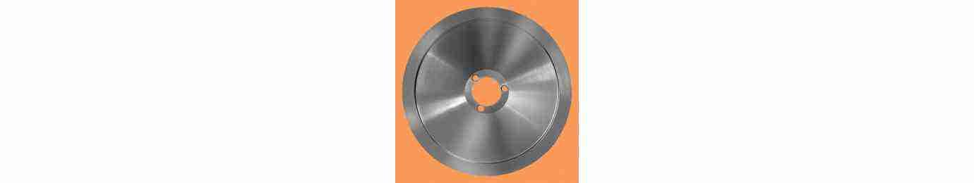 lama per affettatrice  200 - 220 - 240 20 22 24 in acciaio