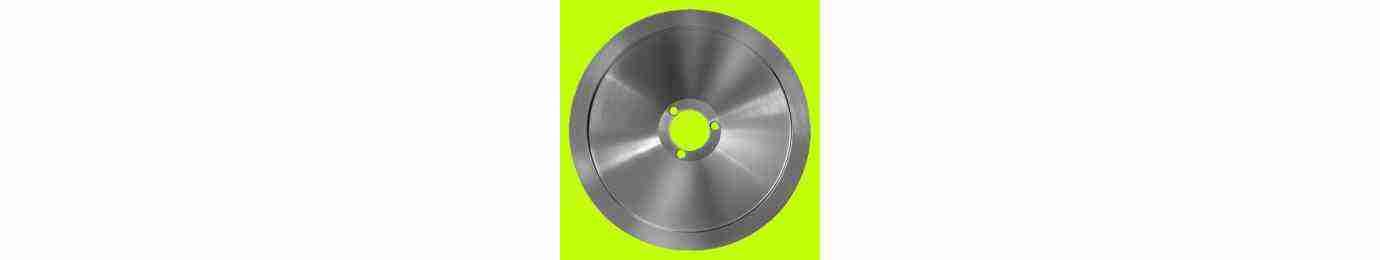 lama per affettatrice  300 - 320 in acciaio