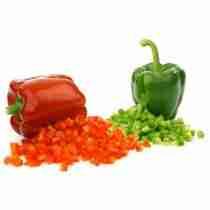VEGETABLE CUTTER AND CUT MOZZARELLA