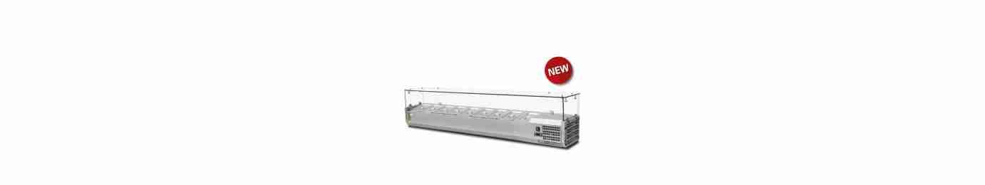 macchine e attrezzature per ristorazione e refrigerazione, vetrine espositive per pasticceria e ristorazione